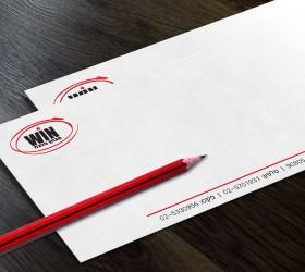 מעטפה לוגו מעוצב