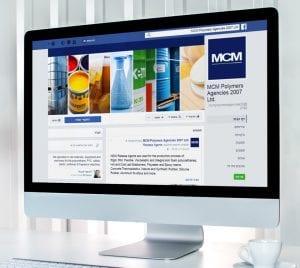 עיצוב עמוד פייסבוק MCM