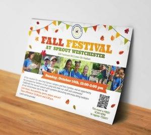 עיצוב הזמנה לפסטיבל