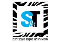 S&T לוגו בעיצוב